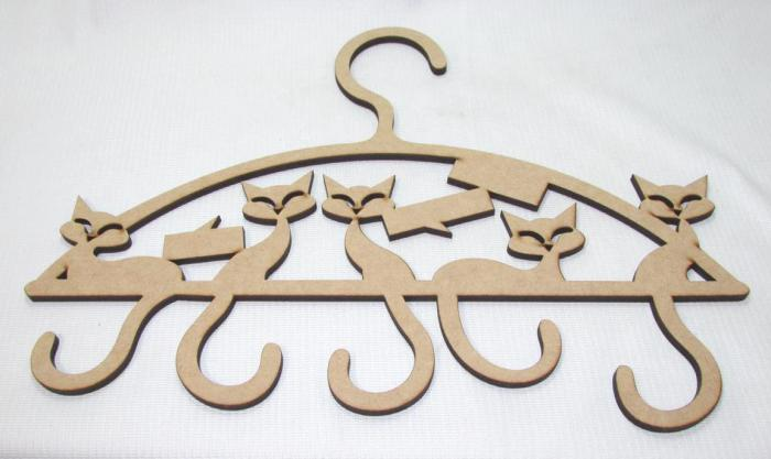 14052 - CABIDE GATOS 42X29 LASER MDF 6MM