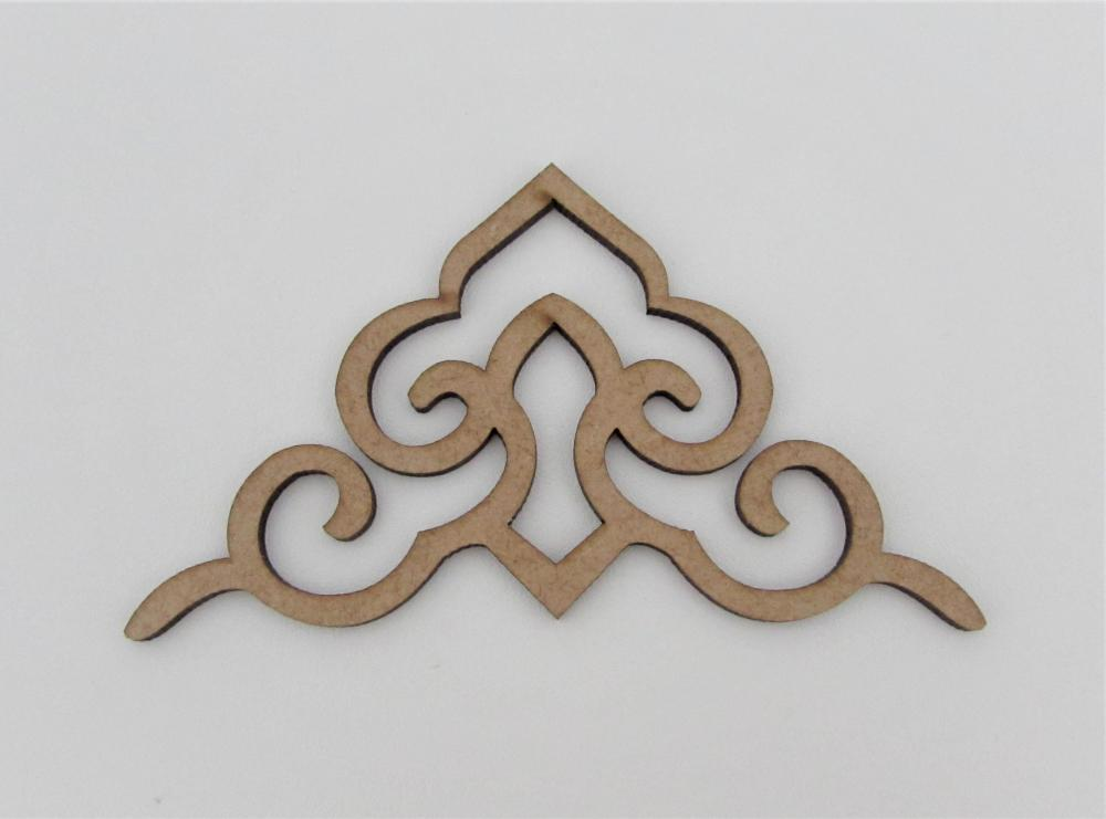 25513 - ARABESCO REF 08 G 11X6,5 MDF 3MM